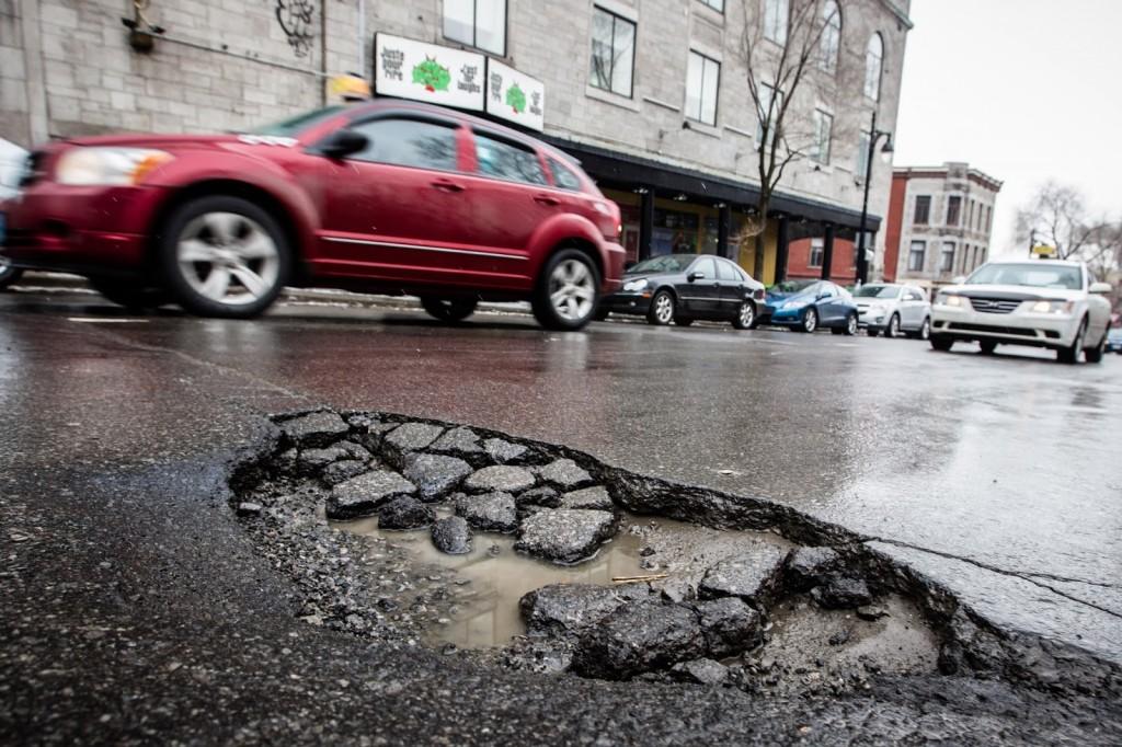 Google Monitoraggio Buche stradali