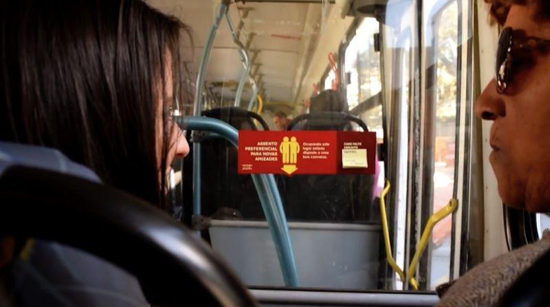 OOH design negli Autobus