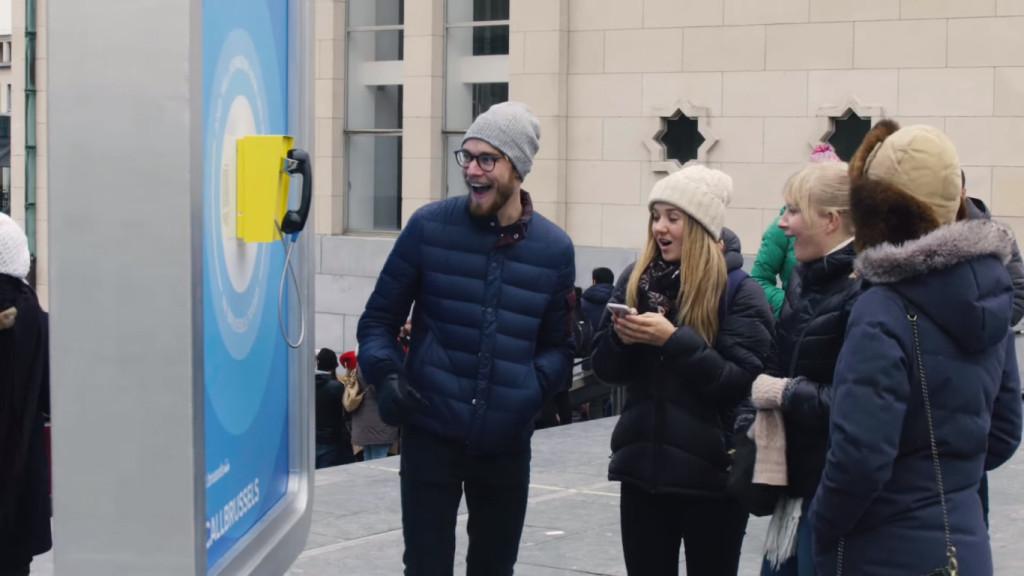 Campagna di comunicazione esterna a Brussels