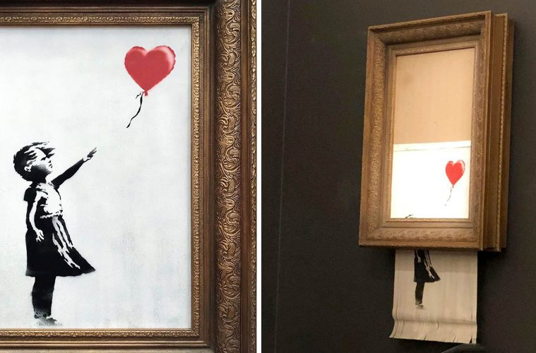 banksy girl with ballon