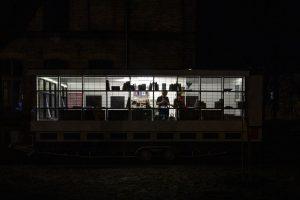 Bauhaus 100 anni_ autobus in tour