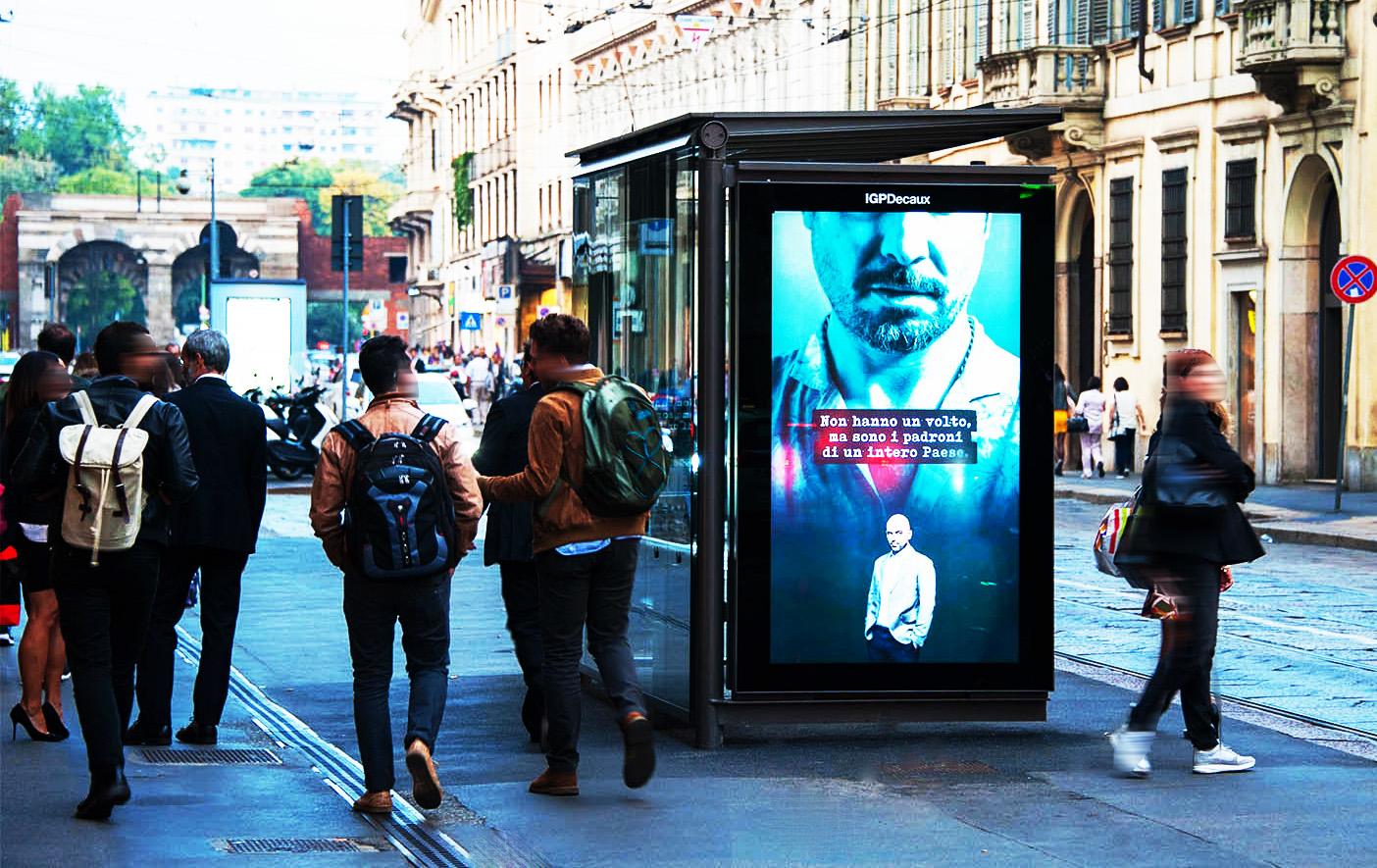 Digital OOH advertsing_pensilineDigitali a Milano IGPDecaux