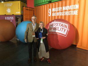 Tiziana Monterisi ha scoperto un metodo in grado di ricavare materiali utilizzabili per l'edilizia, che diventa a 360 gradi volta alla sostenibilità