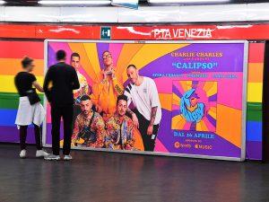 I diversi cantanti del singolo Calipso prodotto dall'etichetta Island Records