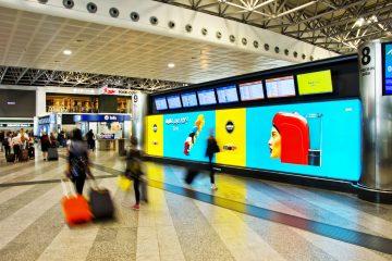 IGPDecaux Pubblicità OOH aeroporto