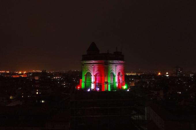 Colori_città_tricolore_Bologna