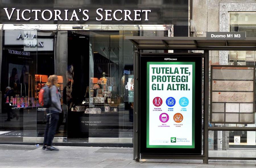 IGPDecaux comunicazione OOH Milano pubblicità sulle pensiline