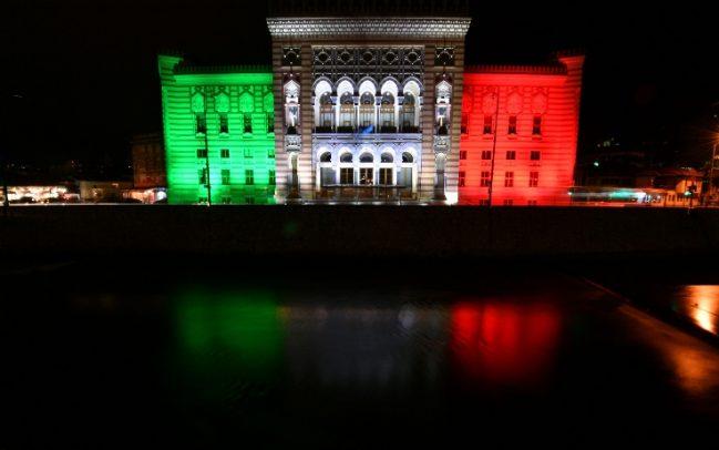 biblioteca_Sarajevo_tricolore
