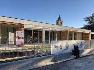 Ricehouse esterno scuola Macerata