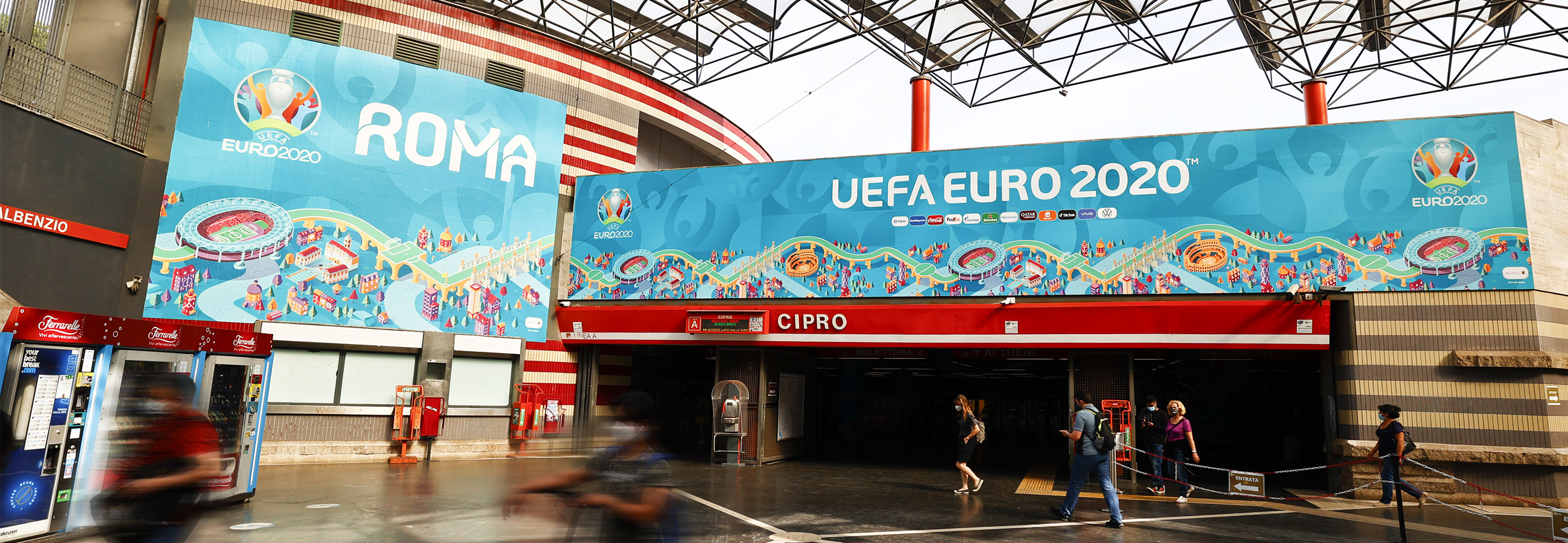 Station Domination Roma IGPDecaux Cipro per UEFA 2020