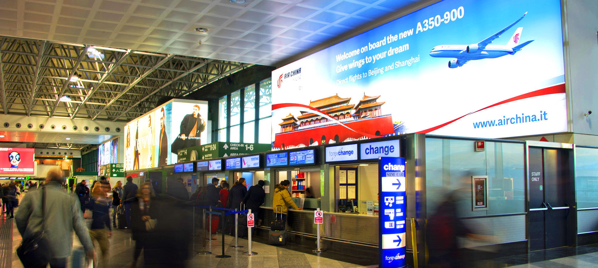 Air China viaggia a Milano con IGPDecaux