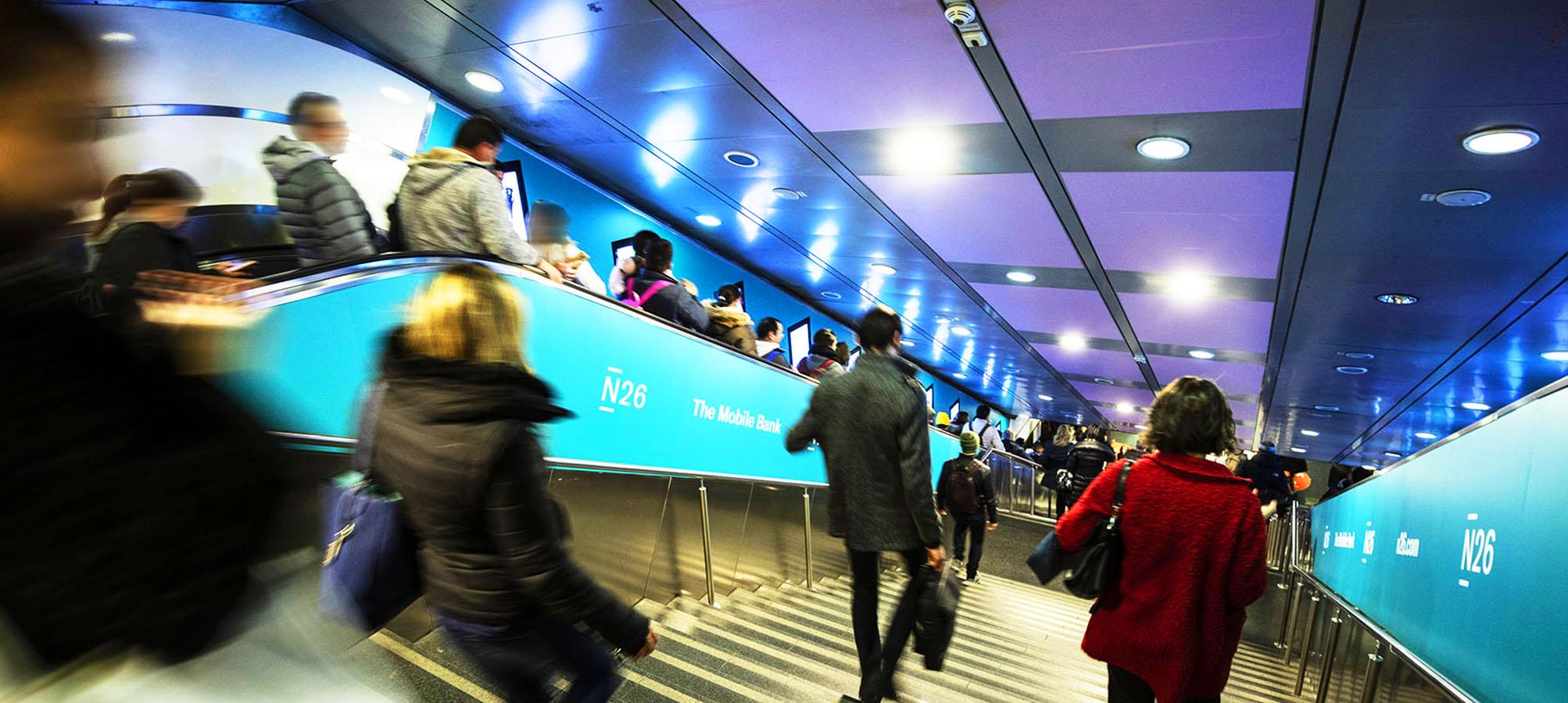 N26 IGPDecaux Digital Escalator a Roma