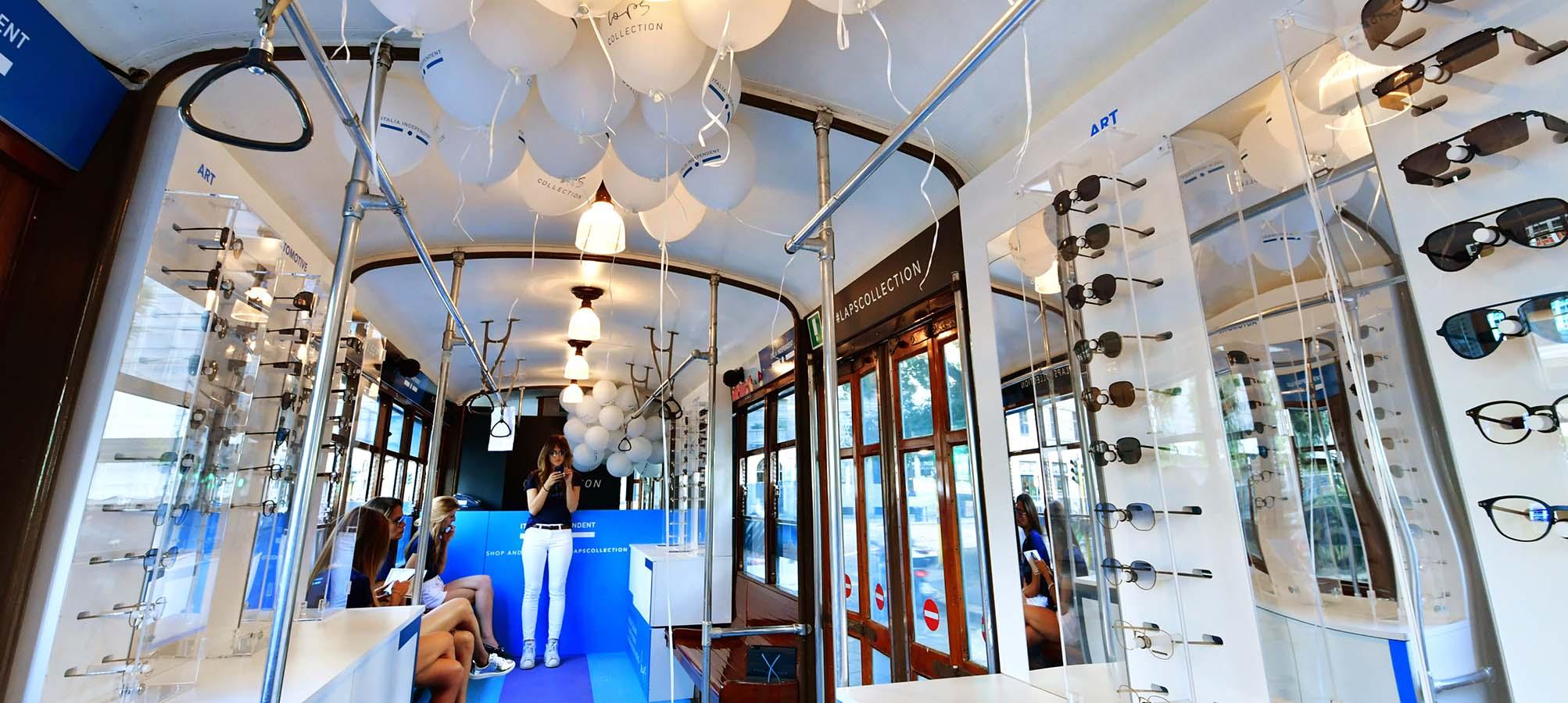 Tram speciale Milano per Italia Independent