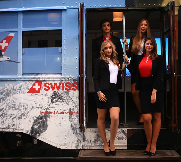 TRAM SPECIALE IGPDECAUX SWISS INTERNATIONAL AIRLINES