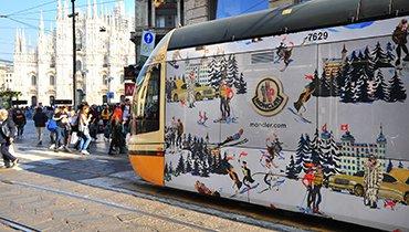 I tram milanesi: creatività e colore su rotaia