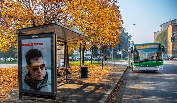 A Milano 60 pensiline green con IGPDecaux e ATM