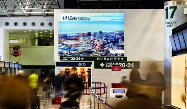 La Liguria è un'altra cosa: la campagna di promozione di Regione Liguria negli aeroporti milanesi