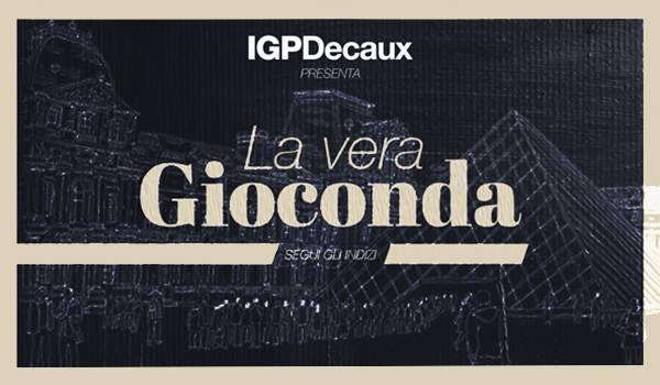 Alla scoperta della vera Gioconda con IGPDecaux
