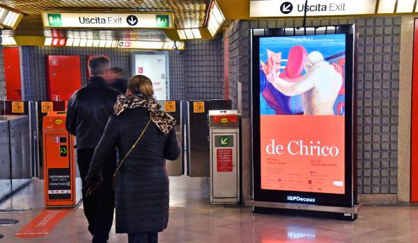 IGPDecaux installed new Digital screens in the milanese underground