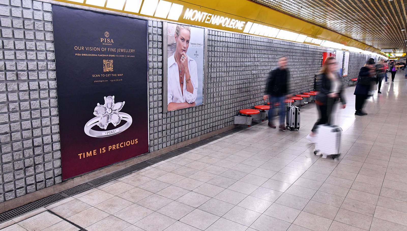 IGPDecaux Milan Station Domination for Pisa Orologeria