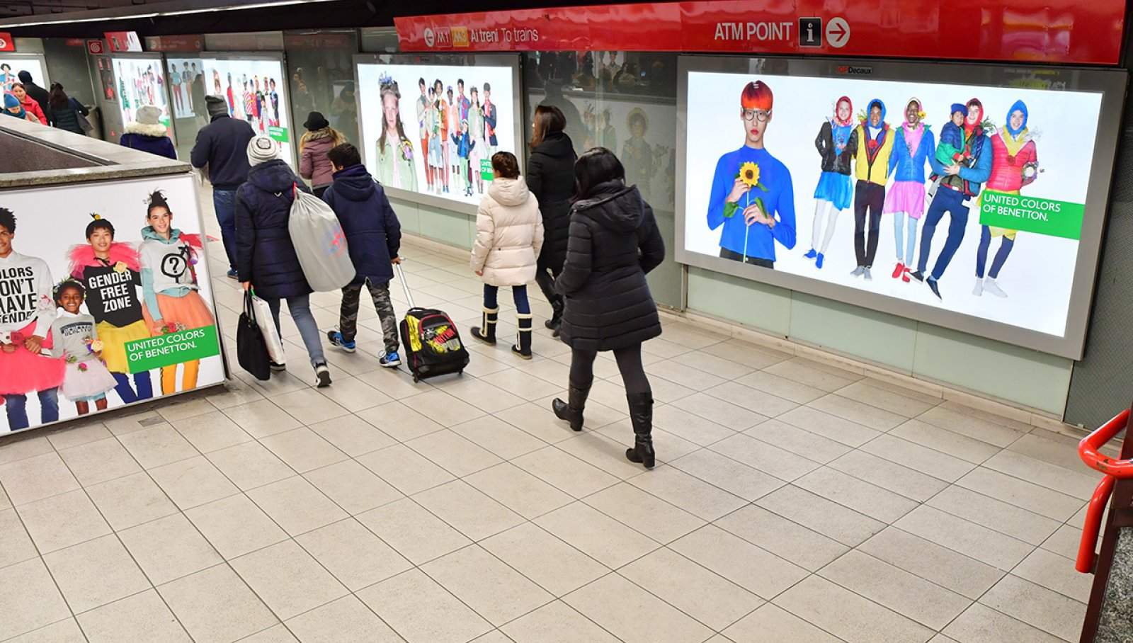 BENETTON Campagna Metro Duomo by IGPDecaux