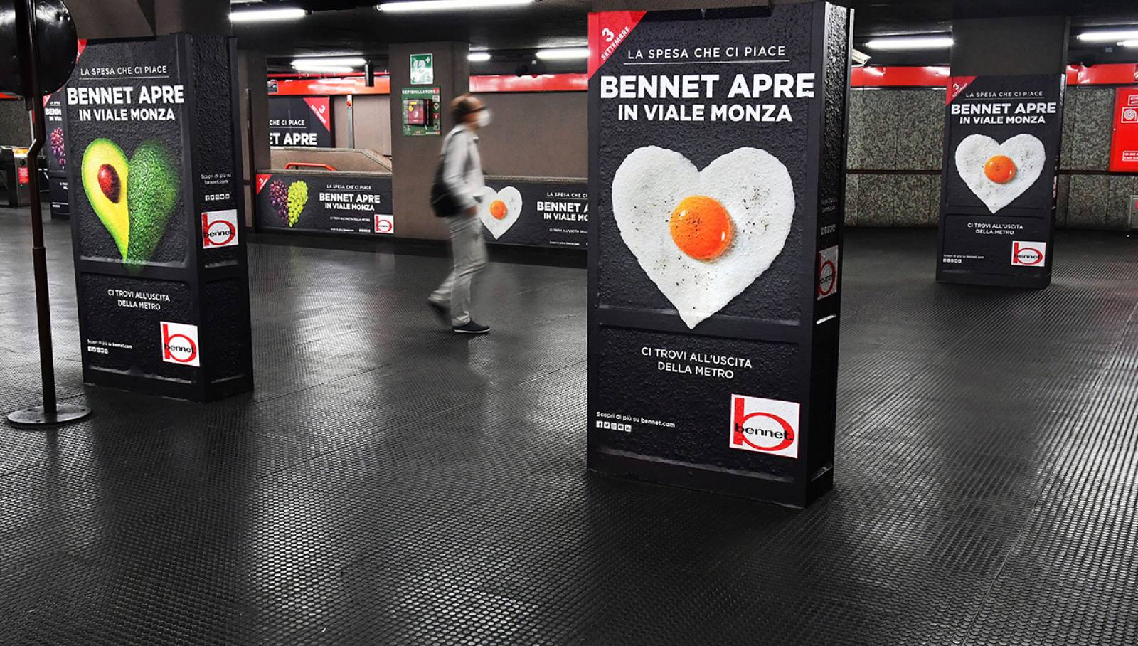 IGPDecaux Milano Station Domination per Bennet