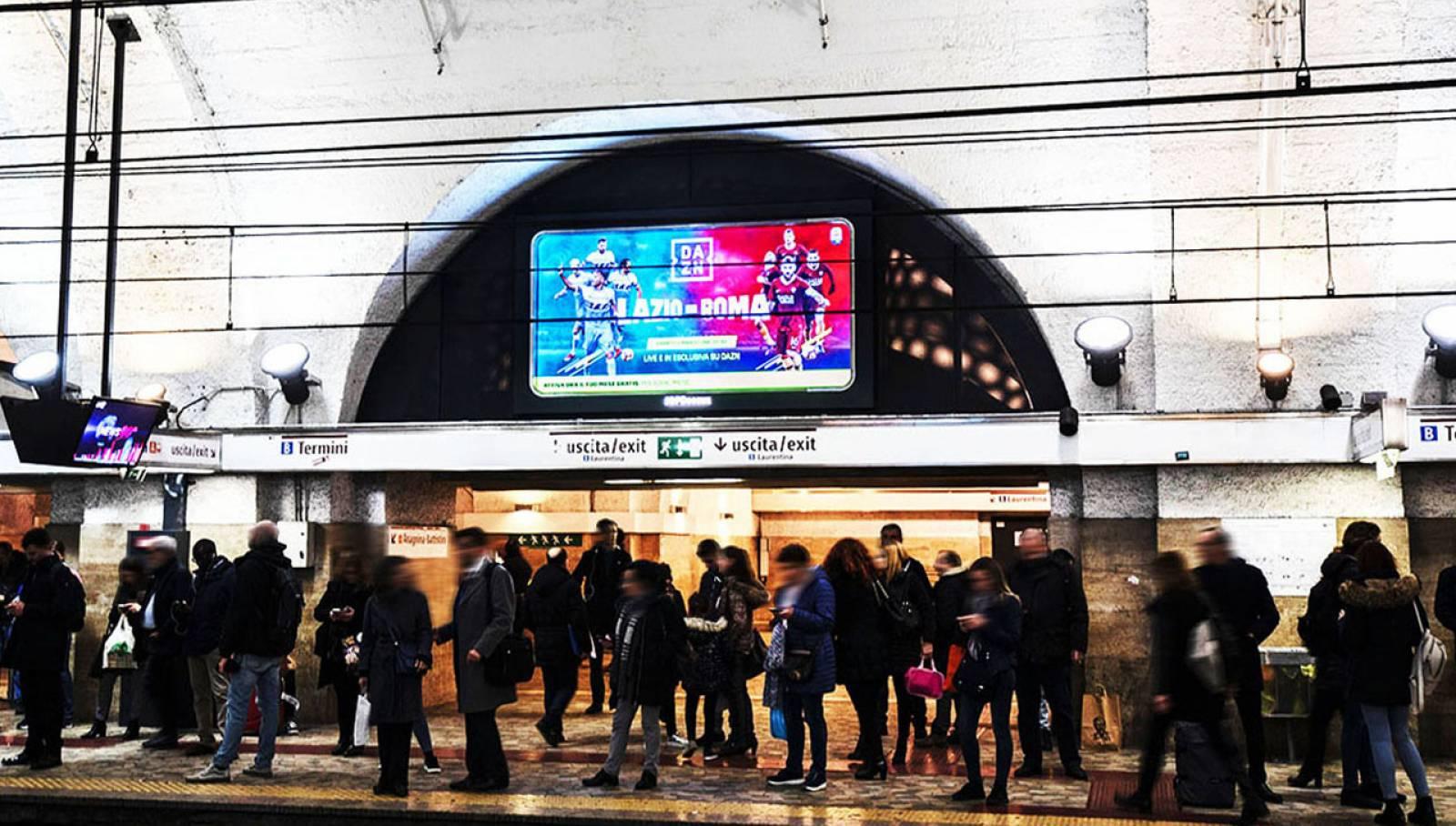 Pubblicità in metropolitana a Roma IGPDecaux Horizon