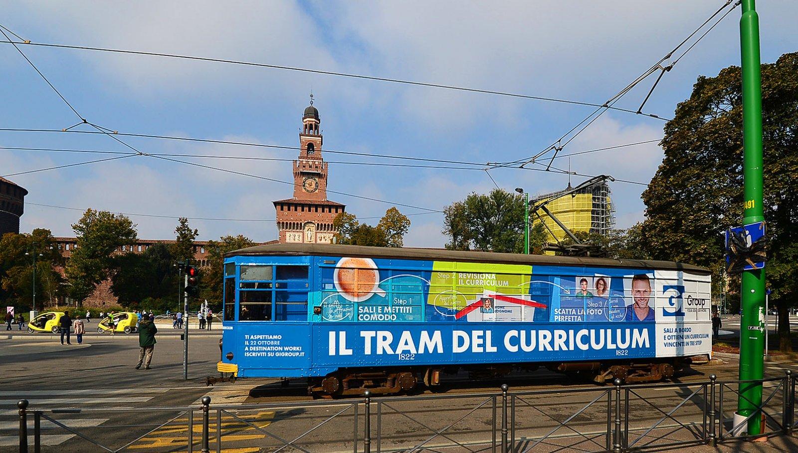 Gi Group Il Tram Del Cv Connette Milano Per Il Secondo Anno
