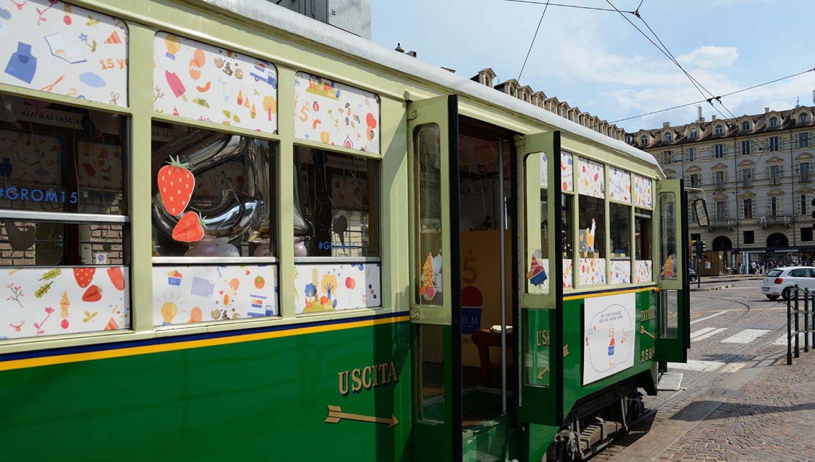 Tram #Grom15 Torino