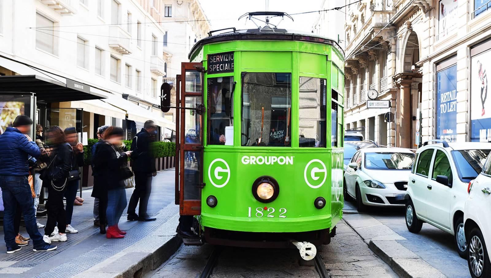 IGPDecaux Milano tram speciale per Groupon
