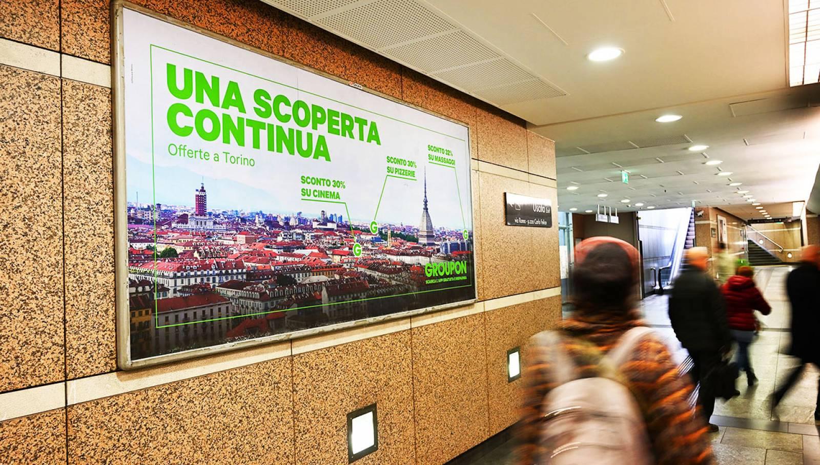 Circuito a copertura landscape a Torino IGPDecaux per Groupon