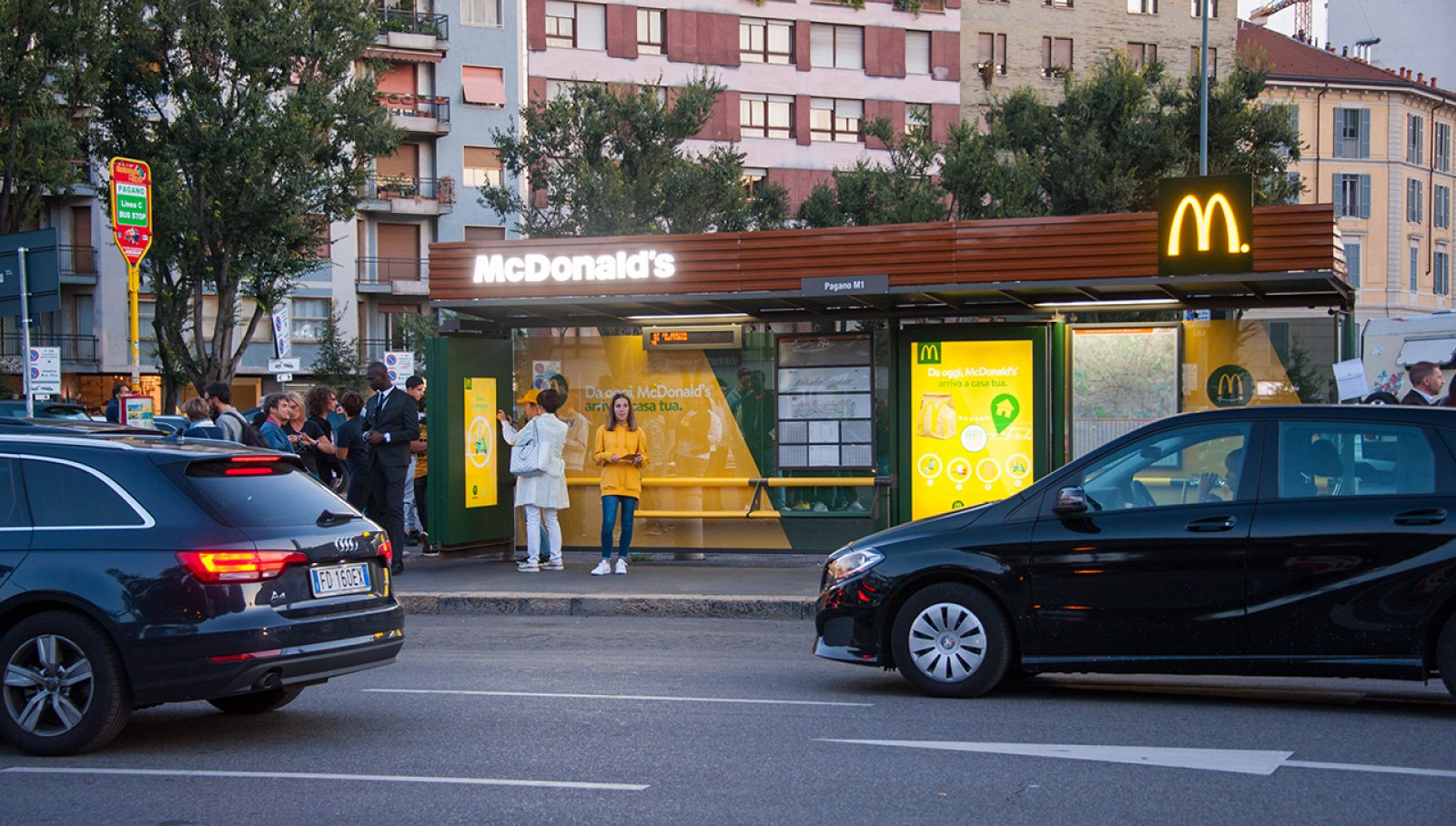 McDelivery Pensiline Creative Solutions IGPDecaux