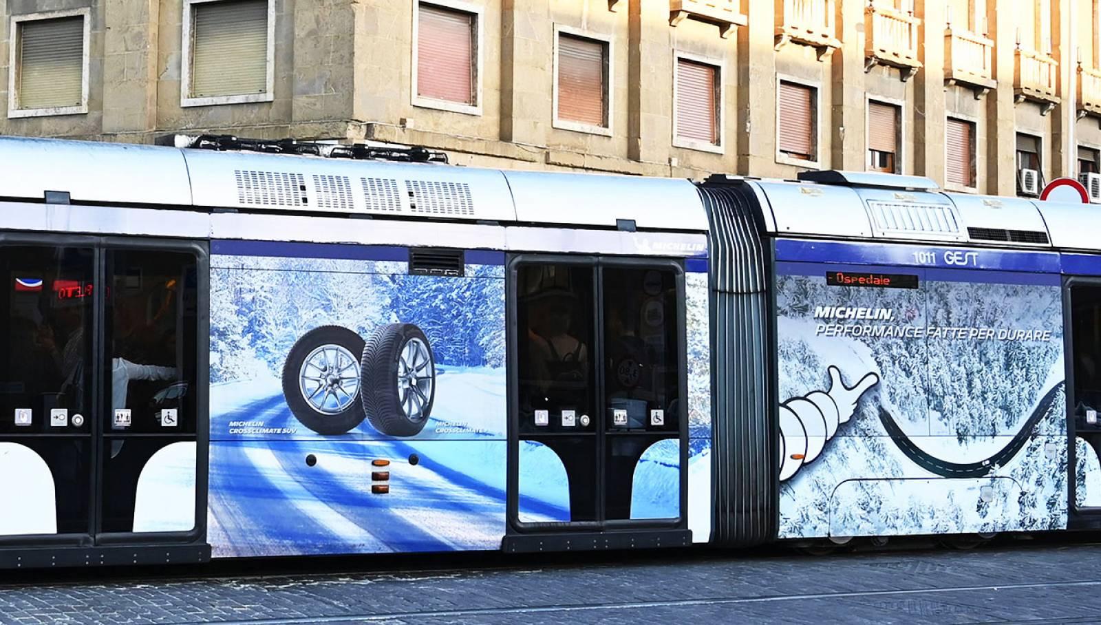 IGPDecaux Firenze pubblicità Out of Home per Michelin