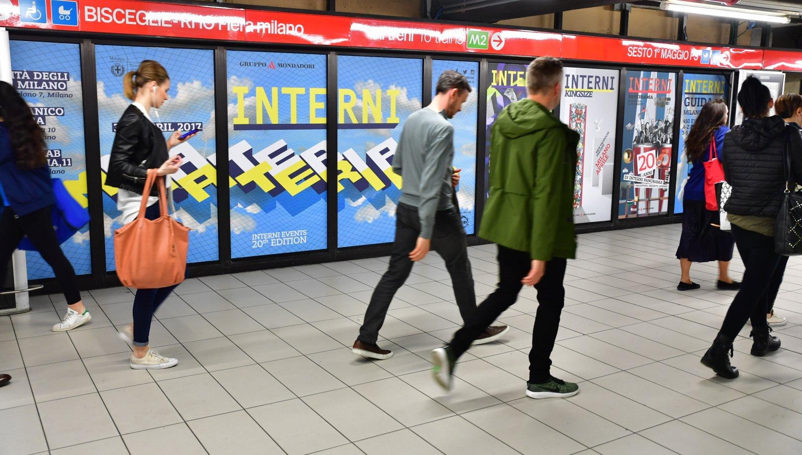 Station Domination-Cadorna-Arnoldo Mondadori- Interni-Design Week-IGPDecaux