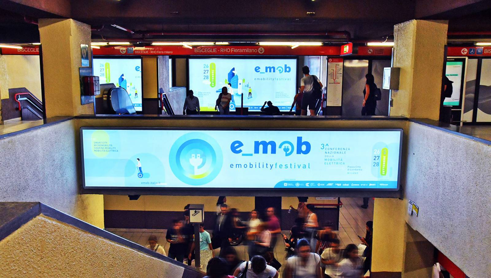 IGPDecaux Station Domination Milano Festival E-mob