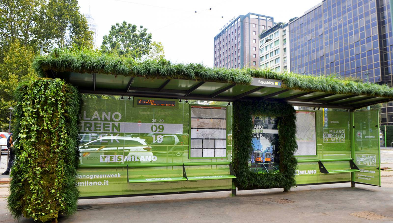Brand Shelter Green Week 2019 IGPDecaux Creative Solutions
