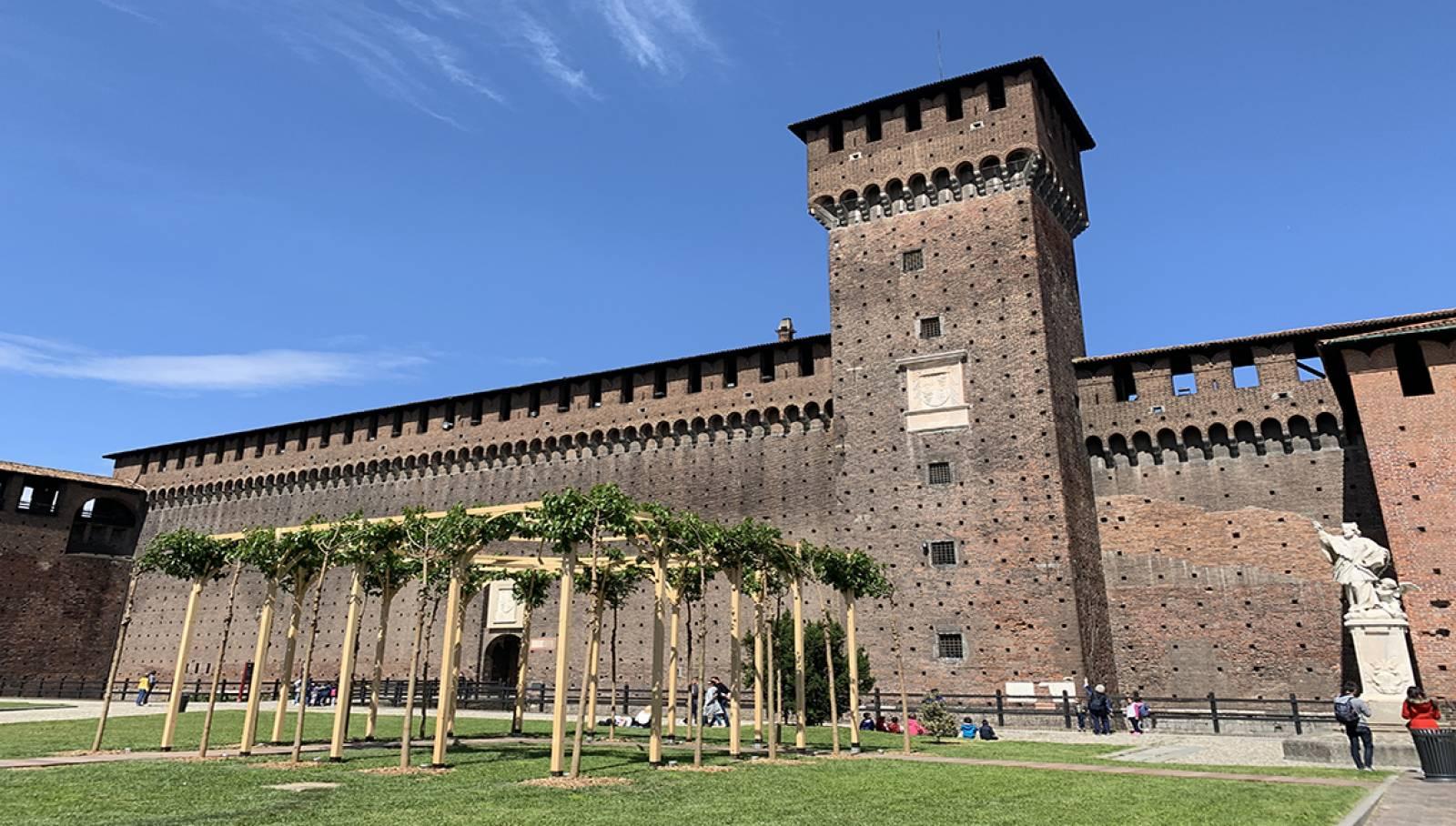 IGPDecaux Pergolato Castello Sforzesco Milano Leonardo 500