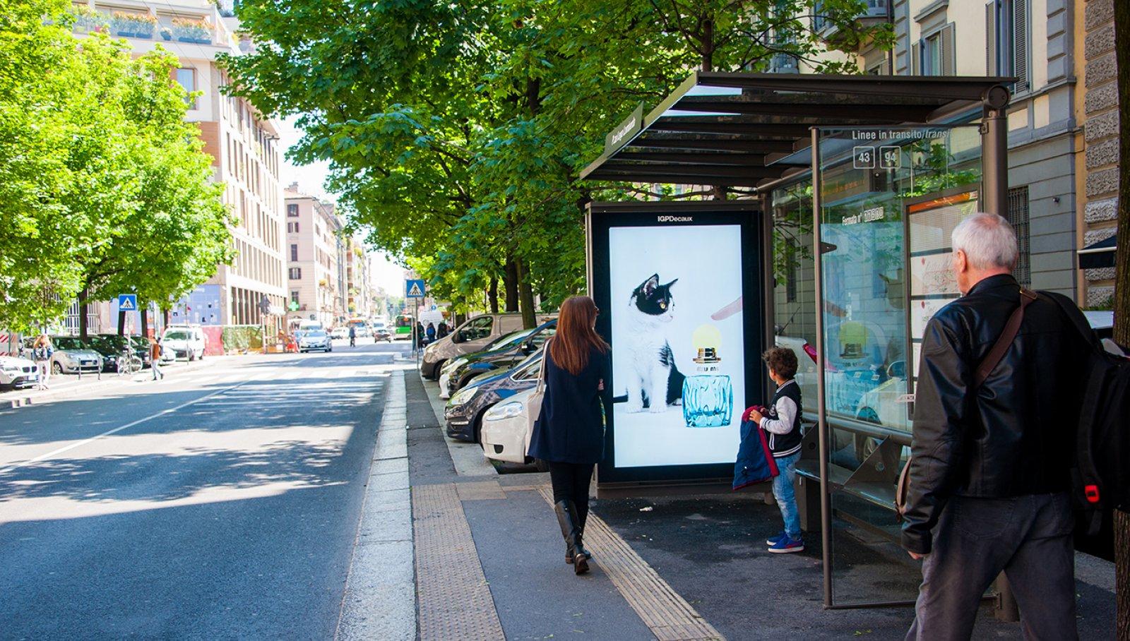 Digital Shelters Prada nel cuore di Milano