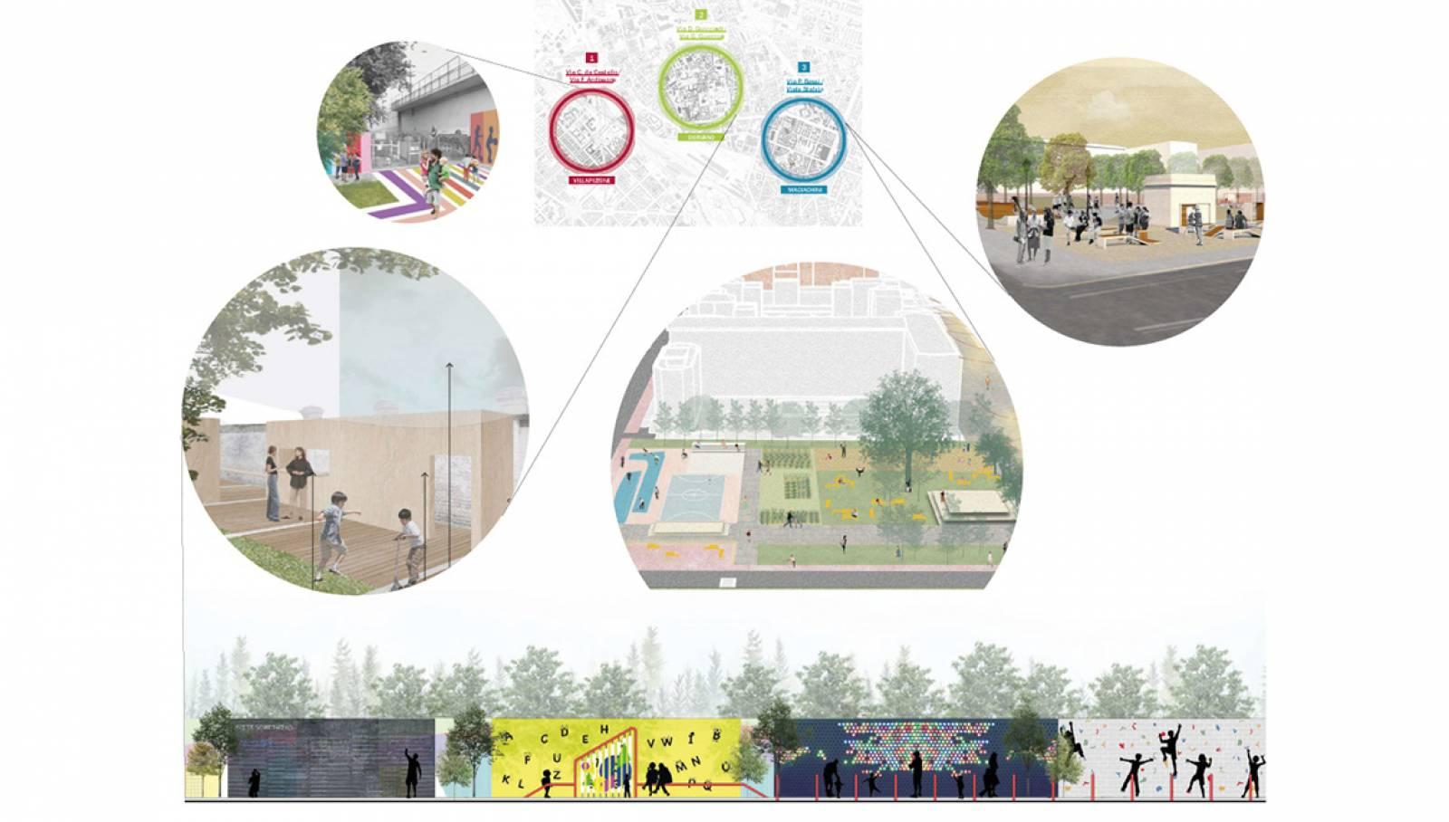"""IGPDecaux Workshop """"Urban Playgrounds. Designing around schools"""""""