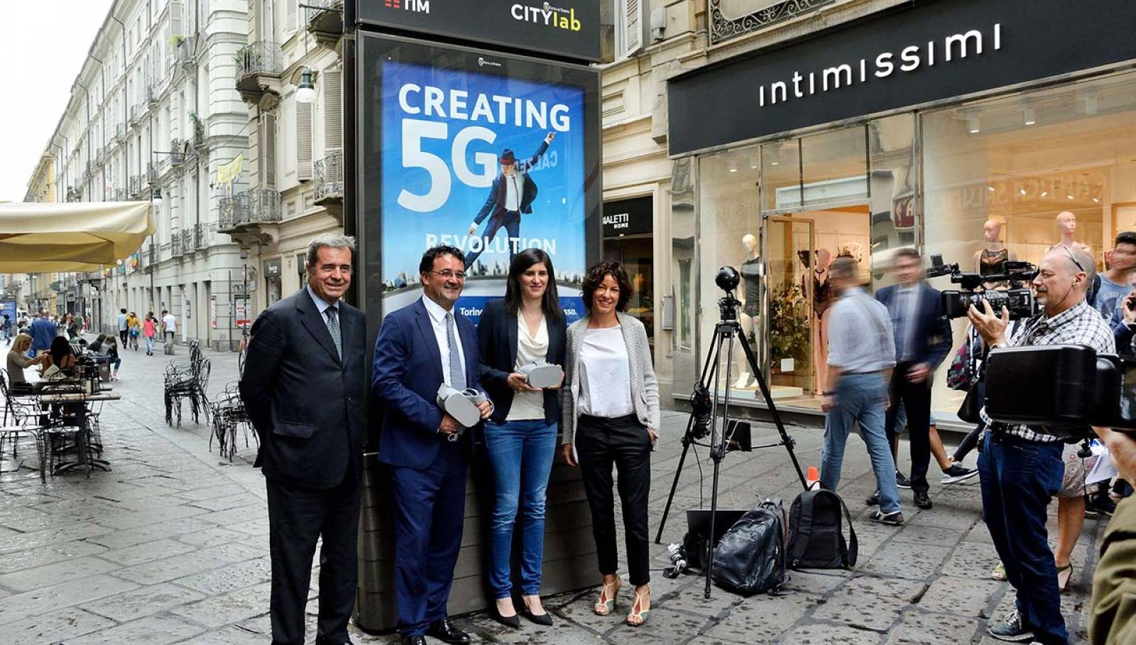 IGPDecaux TIM free Wi-fi Torino 2018