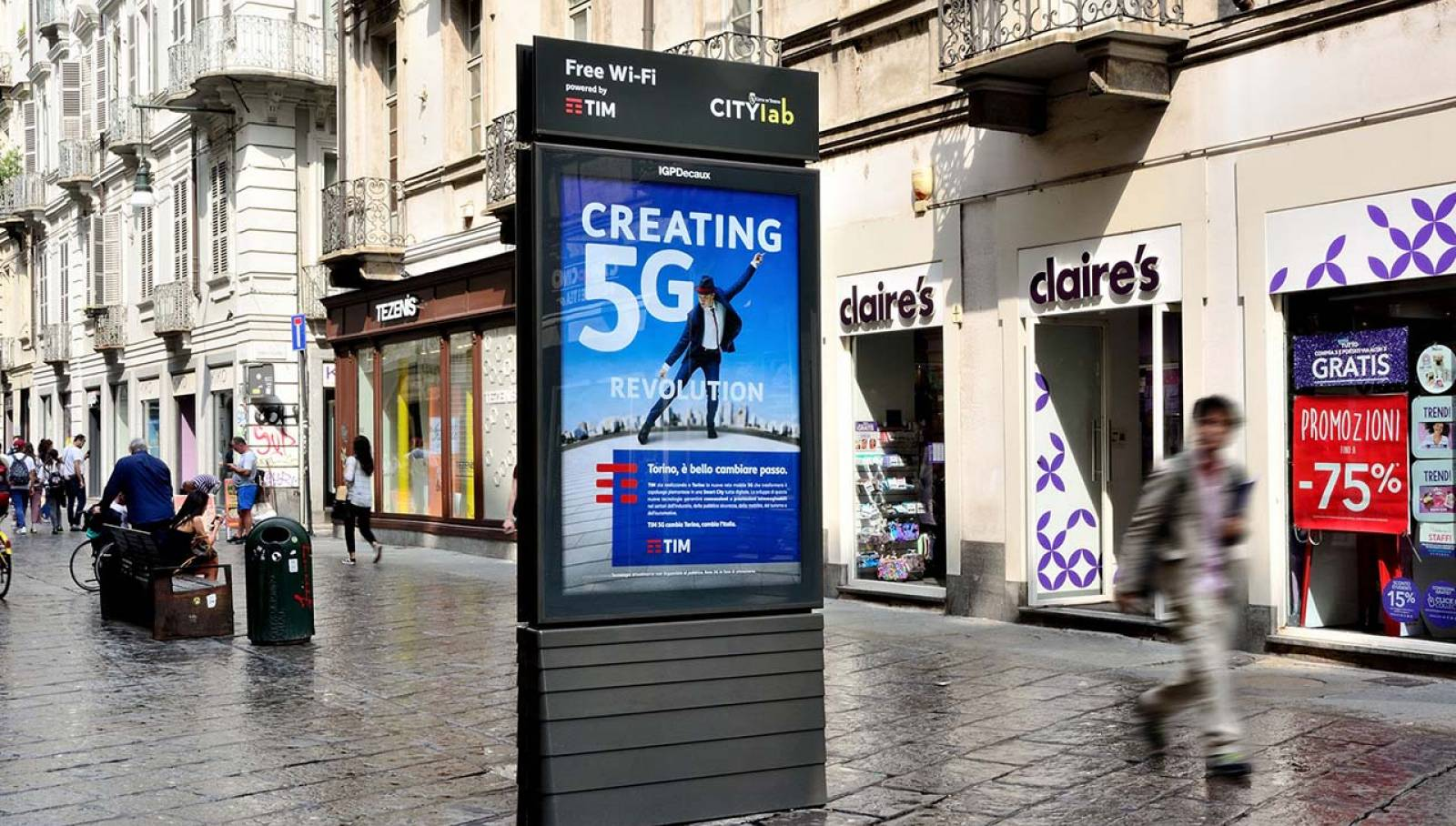 Wi-fi Torino IGPDEcaux TIM 2018