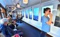 Pubblicità su tram a Milano IGPDecaux tram speciale per Swiss International Airlines
