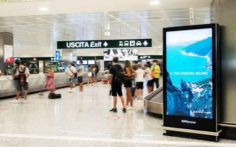 La mobilità aerea è ripartita e gli aeroporti si colorano con l'OOH IGPDecaux