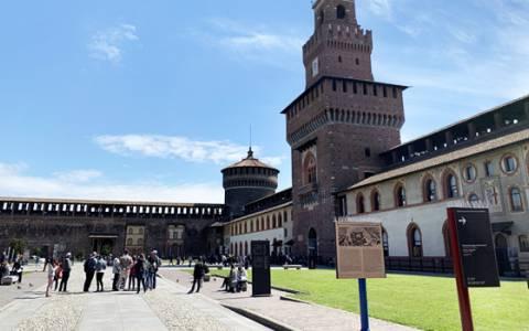 IGPDecaux celebrates Leonardo Da Vinci and the city of Milan
