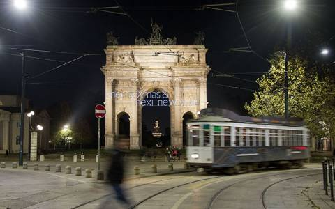 IGPDecaux and Nexi illuminate Corso Sempione in Milan