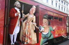 Pubblicità tram Milano tram speciale IGPDecaux per Caffè Borbone