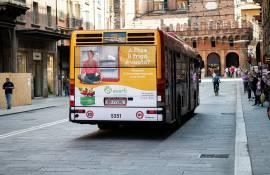 Pubblicità su autobus IGPDecaux Full-Back per Everli a Bologna
