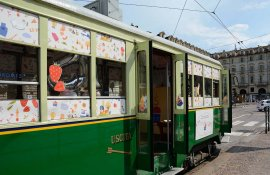 Tram #Grom15 in Turin IGPDecaux