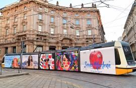 Pubblicità Out Of Home IGPDecaux Milano Full-Wrap per Marlene