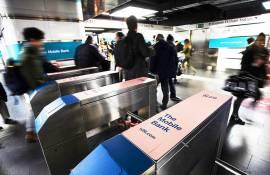 Pubblicità in metropolitana IGPDecaux Station Domination a Roma per N26